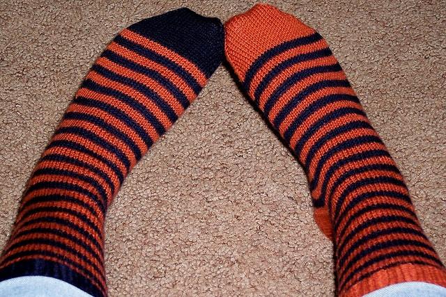 ttknits' fred & george socks