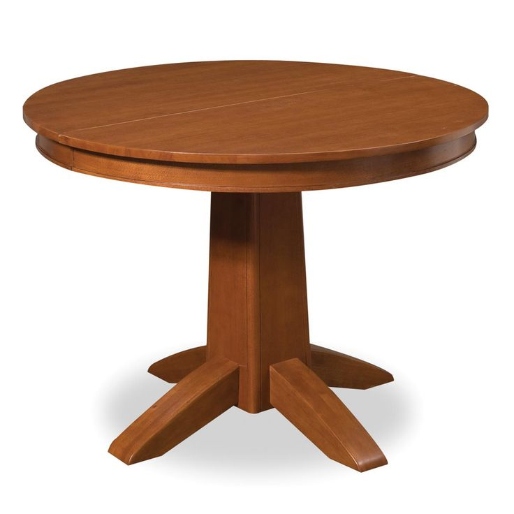 Arts Crafts Cottage Oak Round Dining Table