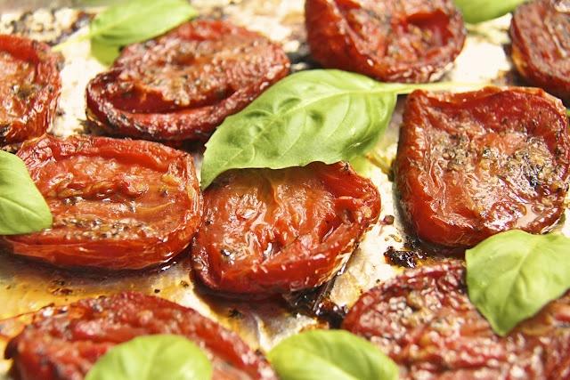 Italian Slow Roasted Tomatoes | yummy food | Pinterest