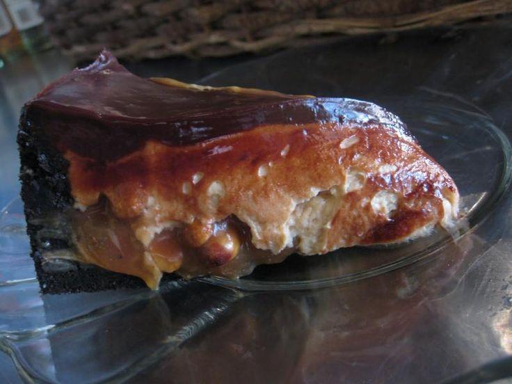 Easy Snickers Bar Pie Recipe | Easy Pie Recipes | Pinterest