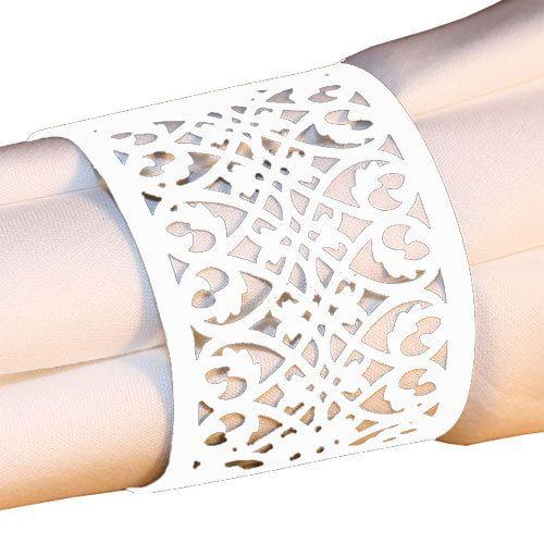paper napkin rings wedding ideas pinterest. Black Bedroom Furniture Sets. Home Design Ideas