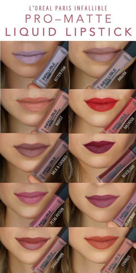 LOreal Paris Infallible Pro-Matte Liquid Lipstick, Roseblood advise