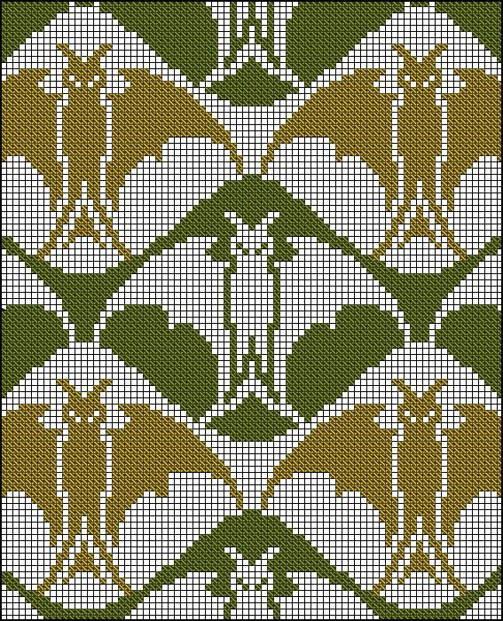 Knitting Cross Stitch : Bats! - Antique Cross Stitch Knit Color Charts Pinterest