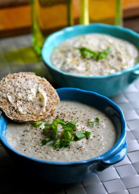 Cauliflower & Artichoke Soup | Yummy Foods | Pinterest