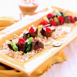 Healthy Grilled Kabob & Skewer Recipes