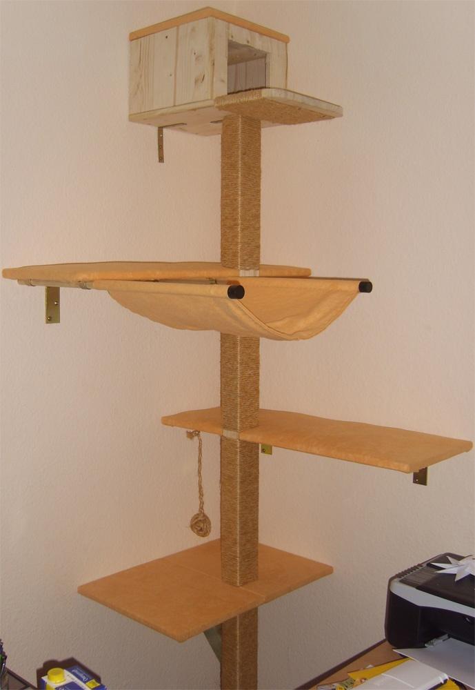 kratzbaum naturholz selber bauen die neuesten innenarchitekturideen. Black Bedroom Furniture Sets. Home Design Ideas