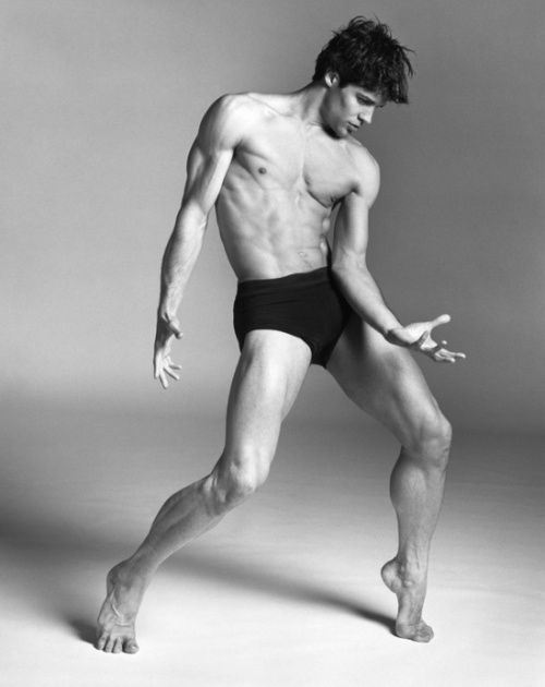 Roberto Bolle: An Athlete in Tights by Bruce Weber