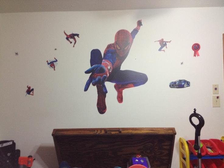Spiderman Wall Decor Jordan 39 S Spiderman Party 5th