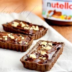 Nutella Mascarpone Tart | My Sweet Addiction... | Pinterest