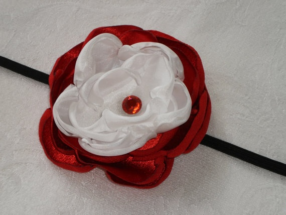 Cincinnati Reds Handmade Red and White by jenniferkatedesigns, $8.00