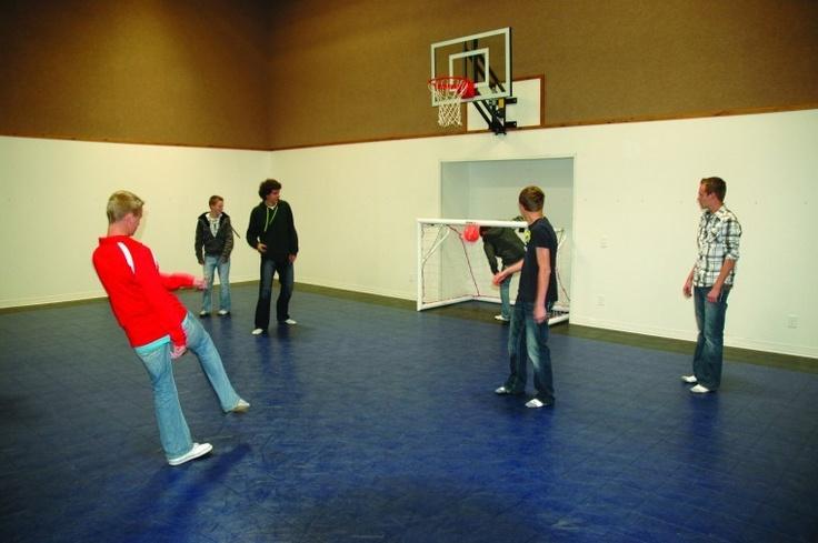 Indoor Sport Court Basement Basement Sport Court Ideas