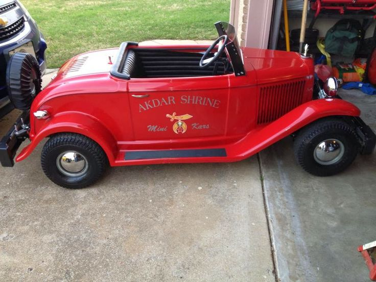 Shriners Parade: Little Shrine Car for sale