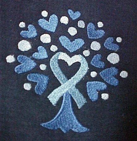 colon-cancer-ribbon..I love you mama. 4 years of fighting. You never  gave up. You won the battle & now you're HOME where we all want to be.