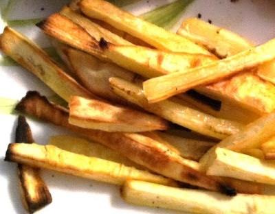 EASY Parsnip Fries! | vegan on the side | Pinterest