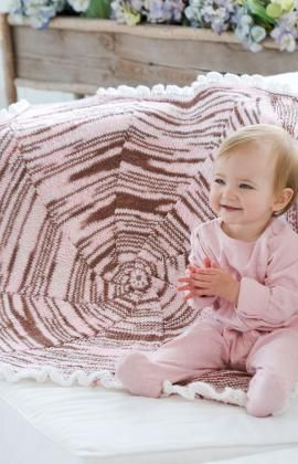 Doily Baby Blanket Crochet Pattern | Red Heart