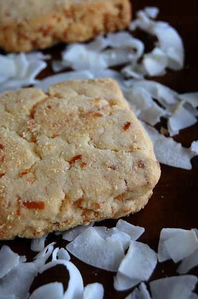 Toasted Coconut Shortbread Cookies | Cookies | Pinterest