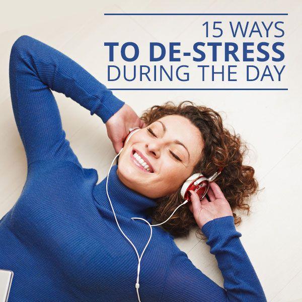 Stress Relief: 8 Ways to De-stress Your Life