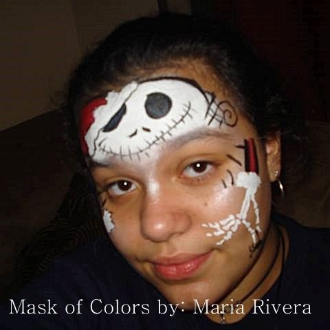 ... Nightmare Before Christmas | @ Maria's Funtastic Face painting
