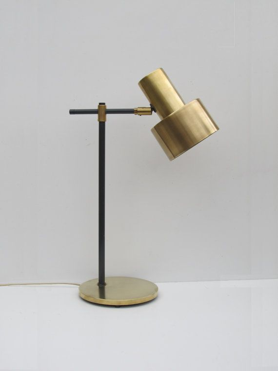 desk lamp designed by Jo Hammerborg in the 1960s for Fog & Morup - Denmark