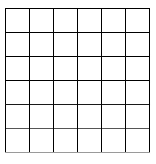 Quilting Grid Paper Grids6x6 Pattern Making Pinterest