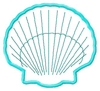 Shell applique