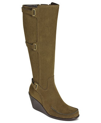 aerosoles shoes gatherer wedge macy s boots booties