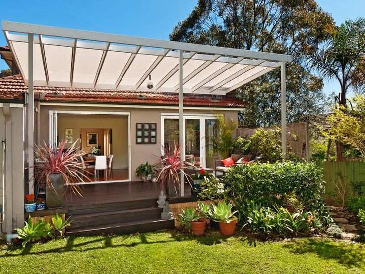 Modern patio overhang ideas para mi casa pinterest for Ideas para patios