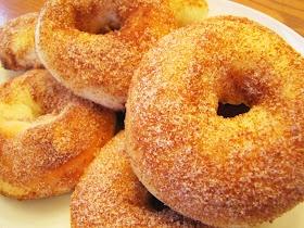 Baked raised doughnuts | Doughnuts for Weekend Mornings | Pinterest