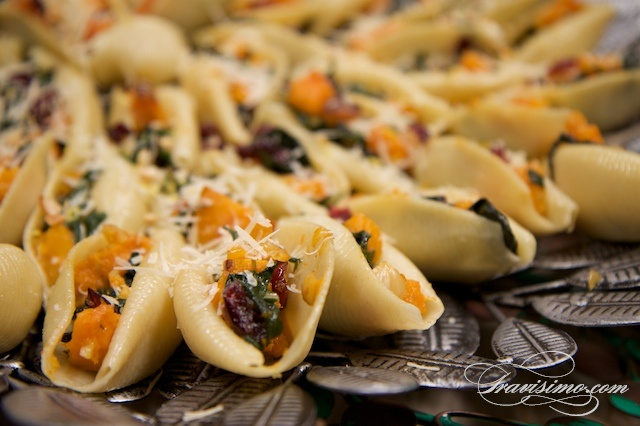 Swiss Chard Stuffed Shells Recipe — Dishmaps