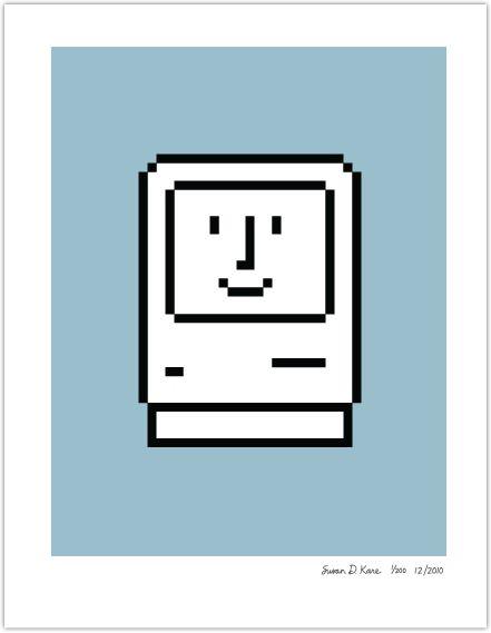 Susan Kare, Smiling Mac icon