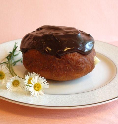 Boston Cream Pie Doughnut | Let's Make a Meal - Breakfast | Pinterest
