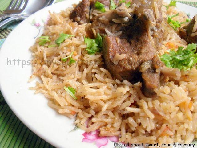 yakhni pulao | indian food | Pinterest
