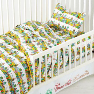 1001 Good Nights Toddler Sheet Set  | LandOfNod