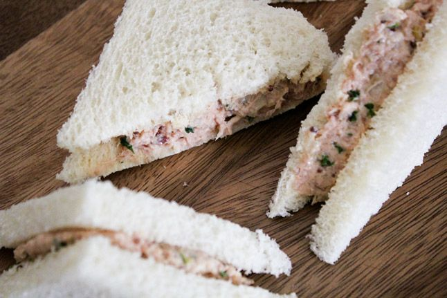 Deviled Ham. Serve as a Tea or regular sandwich or a dip with crackers ...