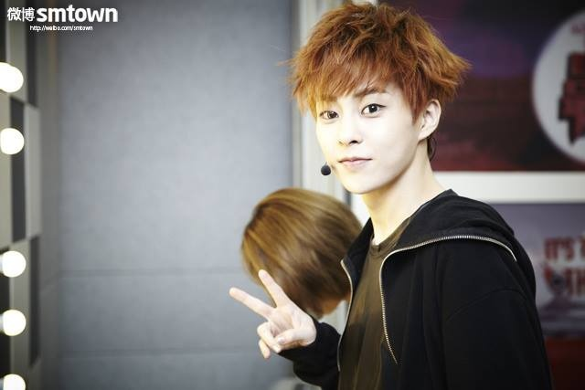 campsXiumin Cute Happy Camp