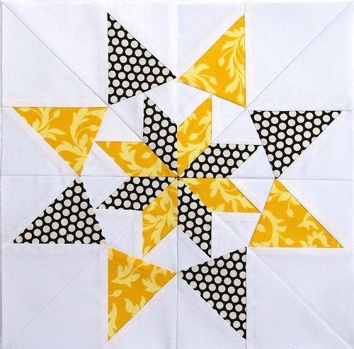 block-- Colorado Star-- 50 Fabulous Paper-Pieced Stars by Carol Doak.