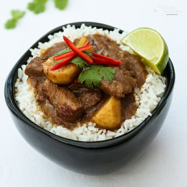 Beef Massaman - Beef Curry | Beef | Pinterest