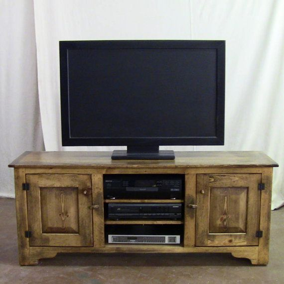 Retirement sale distressed pine 60 inch girtz tv stand Rustic tv stands