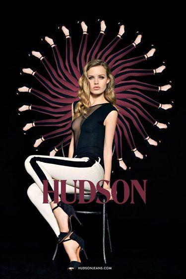@harpersbazaarus Best of Fall 2012 Campaigns: #HudsonCabaret w/ @GeorgiaMJagger @HudsonJeans #LetYourselfGo