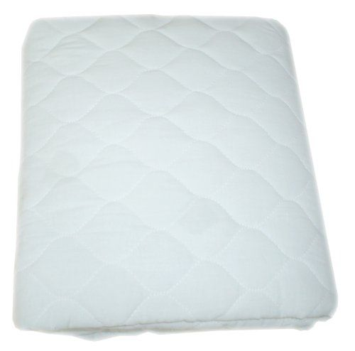American Baby Company Waterproof Fitted Quilted Porta-Crib Mattress Pad Cover $13.99