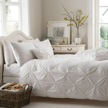 White Ruched Duvet Cover Dunnes Stores Lorenzo Life