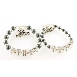 big brother, little brother personalized ID bracelets