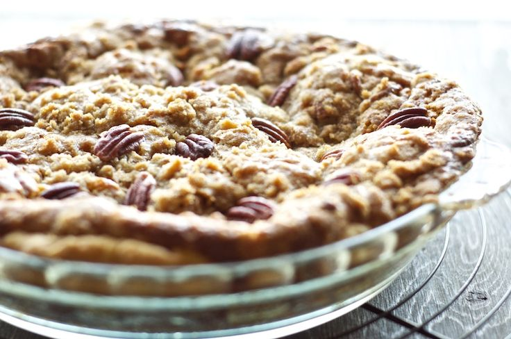 Bourbon pumpkin pie with pecan streusel | Recipes - desserts - pies ...