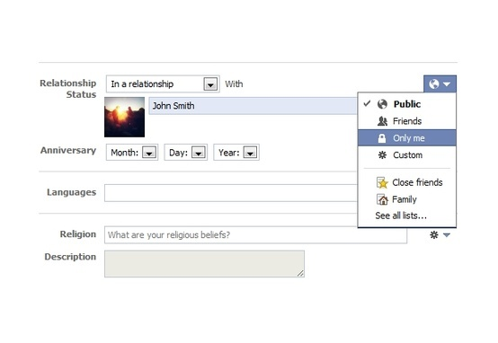 How to change Your Facebook relationship status without alerting ...