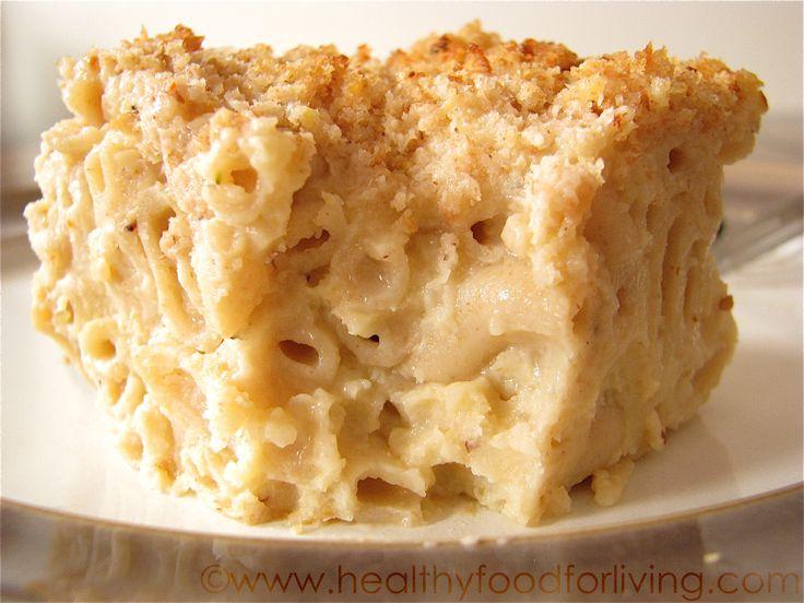 creamy cauliflower mac and cheese | FOOD | Pinterest