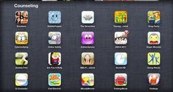 Interactive iPad Apps, Feelings and Emotions, School Counselor,