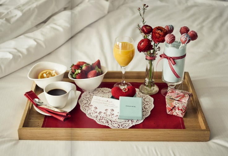 Romantic breakfast have a nice breakfast pinterest for Good ideas for mother s day breakfast in bed