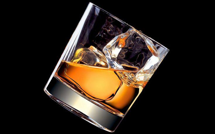 Whiskey on the rocks | Intoxicants | Pinterest