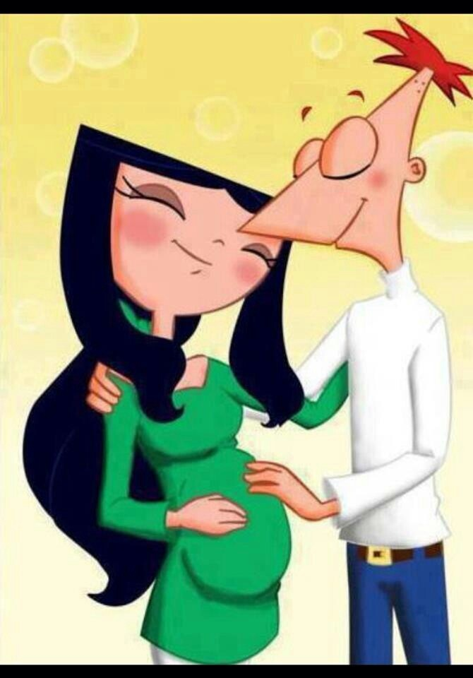 Phineas and Isabella awwww | Phineas and ferb | Pinterest