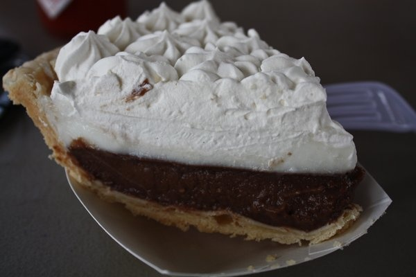 Chocolate Haupia Pie, Teds Bakery | Around the World Foods | Pinterest